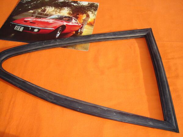 Seitenfensterdichtung Opel GT AL -feststehend-