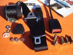 Seat Belt Kit -black-