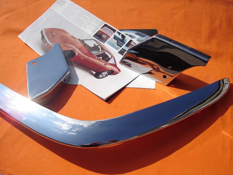 Stoßstangenset Opel GT, Komplettsatz