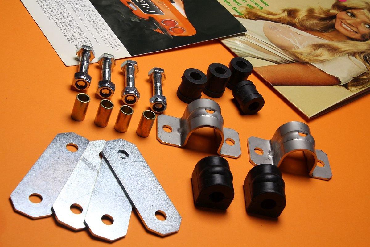 Stabilisator - Kit hinten komplett Opel GT, Kadett B/C