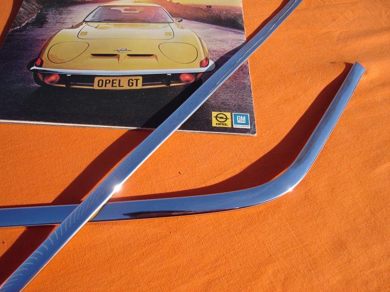 Opel GT Chrom Heckzierleiste