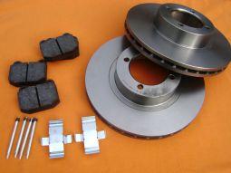 Front Brake Set ventilated