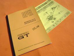 Werkstatthandbuch Opel GT