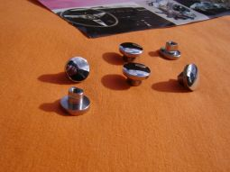 Chrome Knobs Pop Out Windows Opel GT
