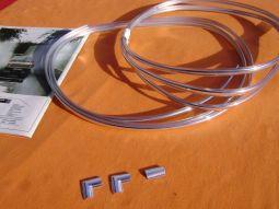 Kadett C Coupe Chromleistenset kompl.
