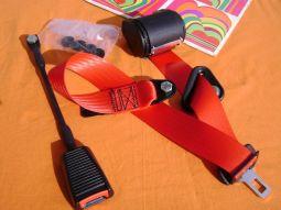 Seat Belt Kit - red -