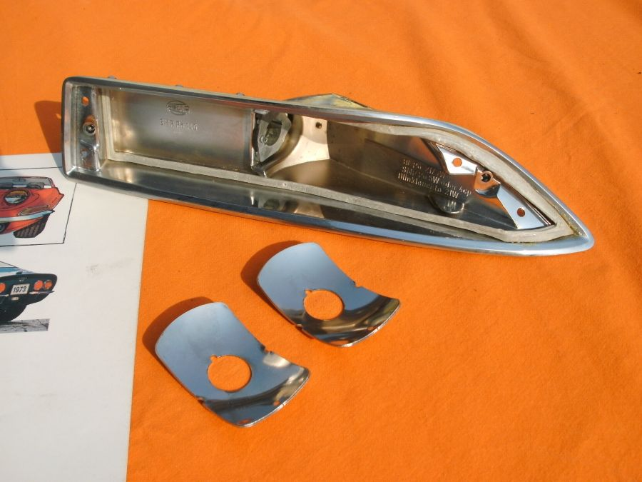 Blinkerreflektoren Opel GT , Satz