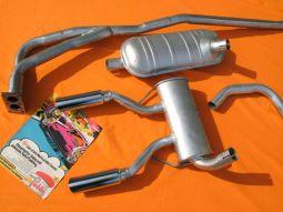 Opel GT 1900 Exhaust System