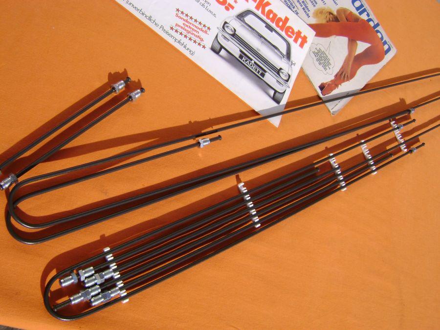 Bremsleitungssatz Kadett C