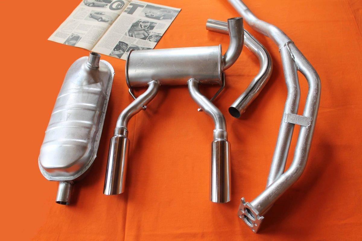 Opel GT 1100 Exhaust System