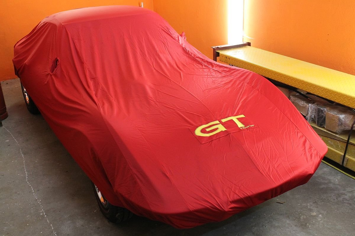 Opel GT Luxus Car Cover , ROT