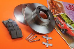 Front Brake Set  Kadett C 1200