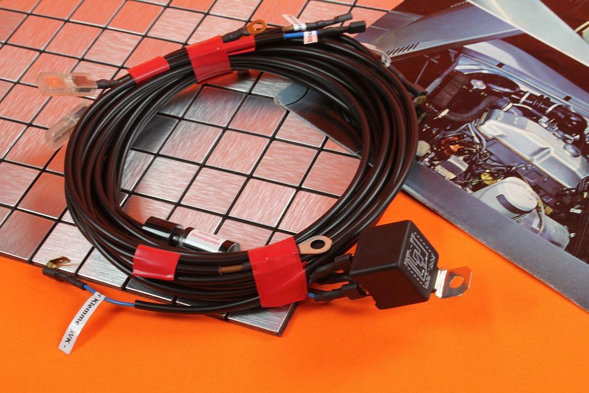 Relais - Kit für elektrische Benzinpumpe Opel GT