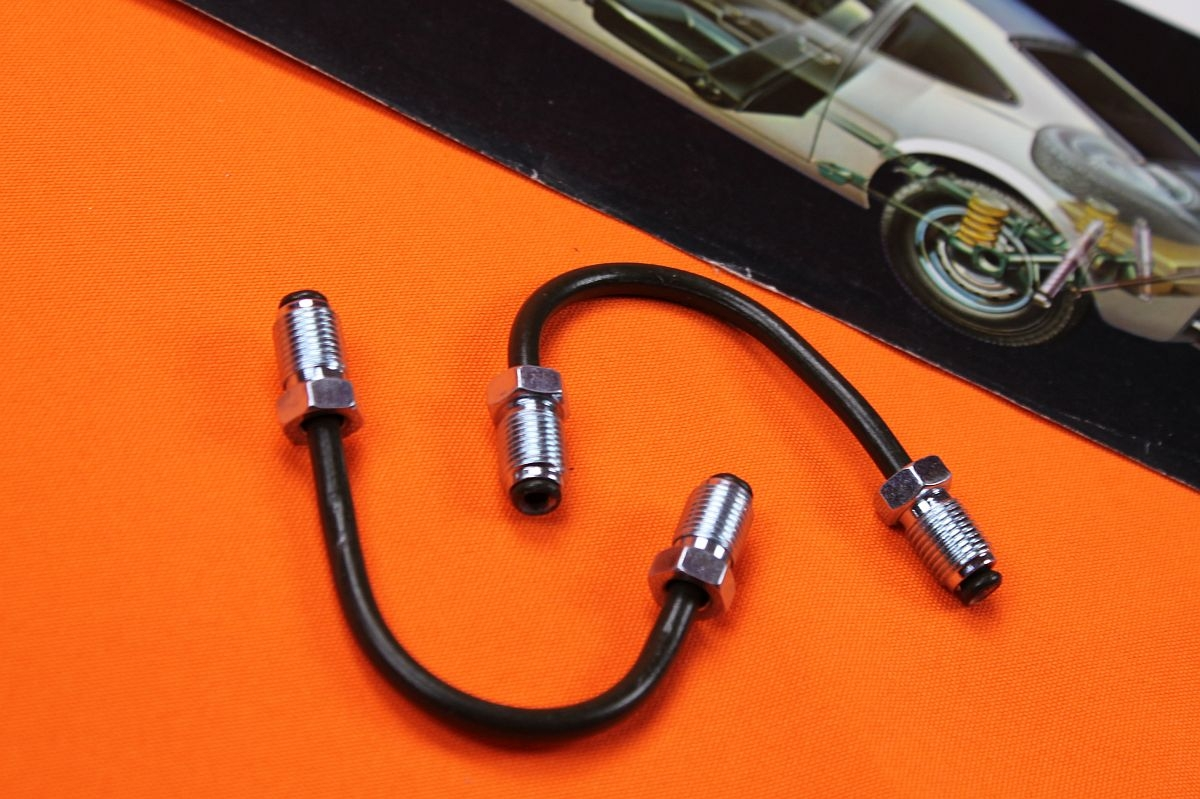 Set Bremssattelanschlüsse Opel GT - fertig gebogen-
