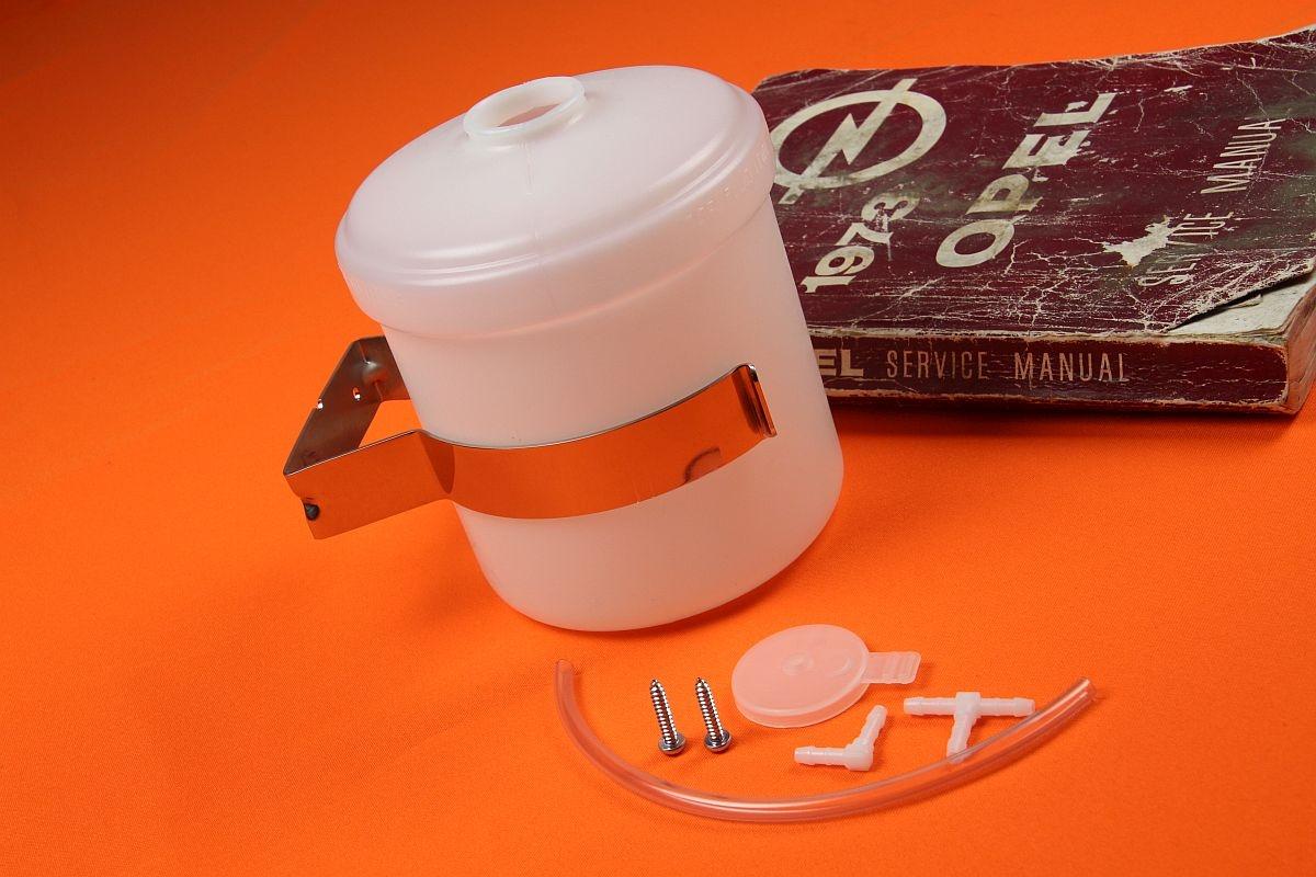 Wischwasserbehälter mit Chromhalter Kadett C