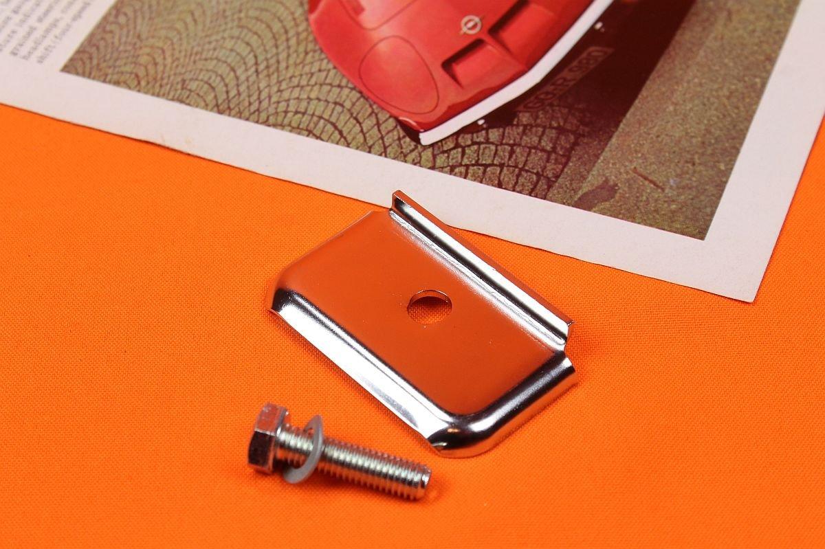 Batterieklemme Luxus , Chrom-Edelstahl