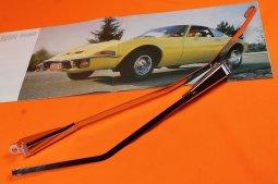 Wischerarme Opel GT, Satz, Chrom, frühe Serie