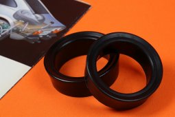 Front Axle Shock Tower Rings black
