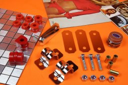 Sport Stabi-Kit hinten komplett Opel GT, Kadett B/C, SCHWARZ