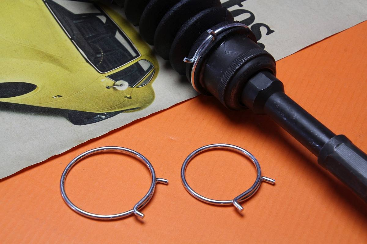 Klammern Set Lenkmanschette Opel GT, Kadett B