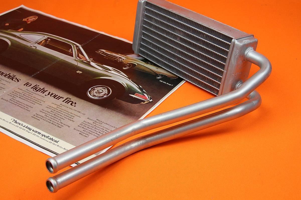 Opel GT Heizungskühler / Wärmetauscher komplett