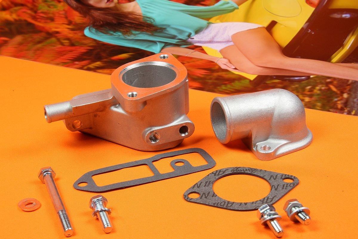 Thermostatgehäuse + Deckel im Set, Opel GT usw.